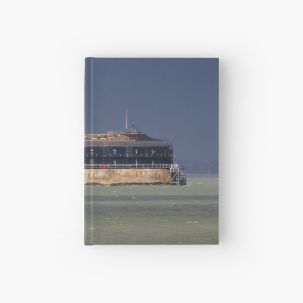 No Man's Land Fort The Solent Hampshire Hardcover Journal