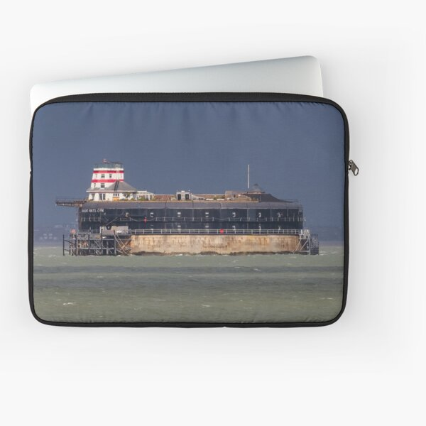 No Man's Land Fort The Solent Hampshire Laptop Sleeve
