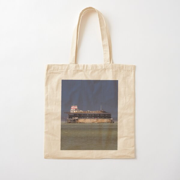 No Man's Land Fort The Solent Hampshire Cotton Tote Bag