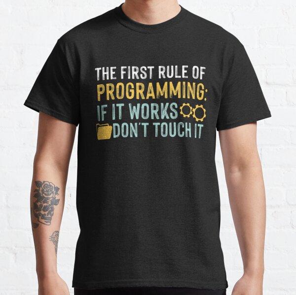 Systems Ingenieur T-Shirt Lustiges Geschenk Software Computer Internet It Mens