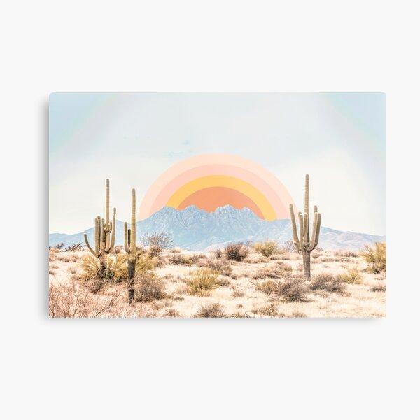 Arizona Sunrise Metal Print