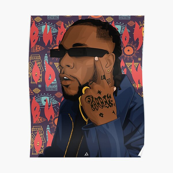 BURNA BOY Poster