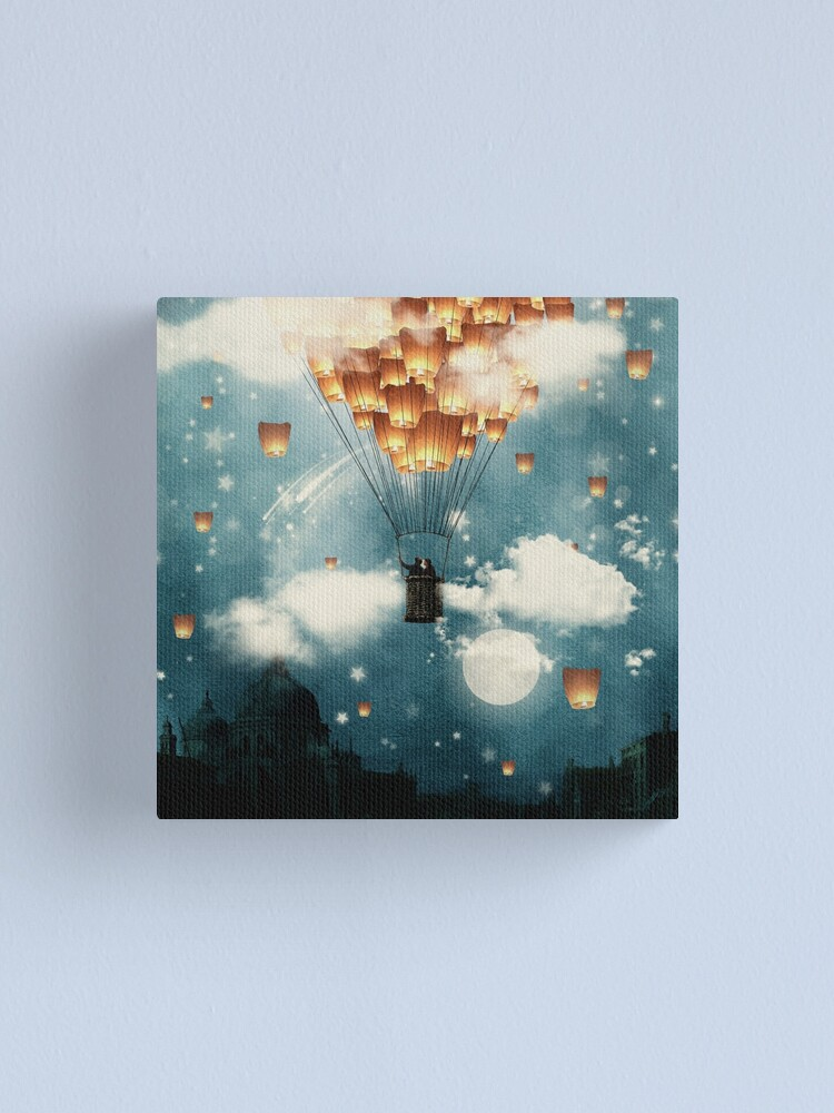 Alternate view of Where all the wishes come true Canvas Print