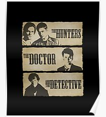 The Hunters, The Doctor and The Detective  Poster