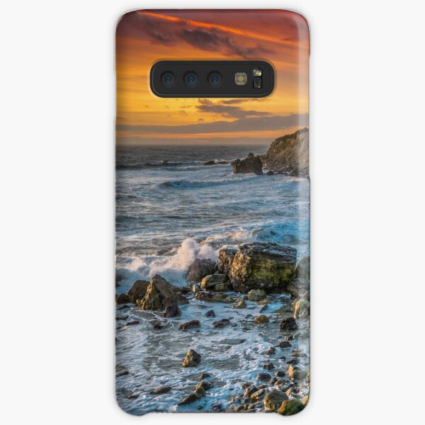 Watershoot Bay St Catherines Isle Of Wight Samsung Galaxy Snap Case