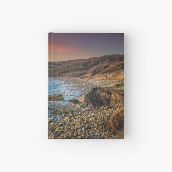 Watershoot Bay St Catherines Isle Of Wight Hardcover Journal