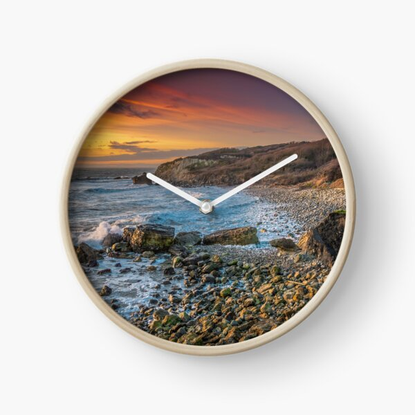 Watershoot Bay St Catherines Isle Of Wight Clock