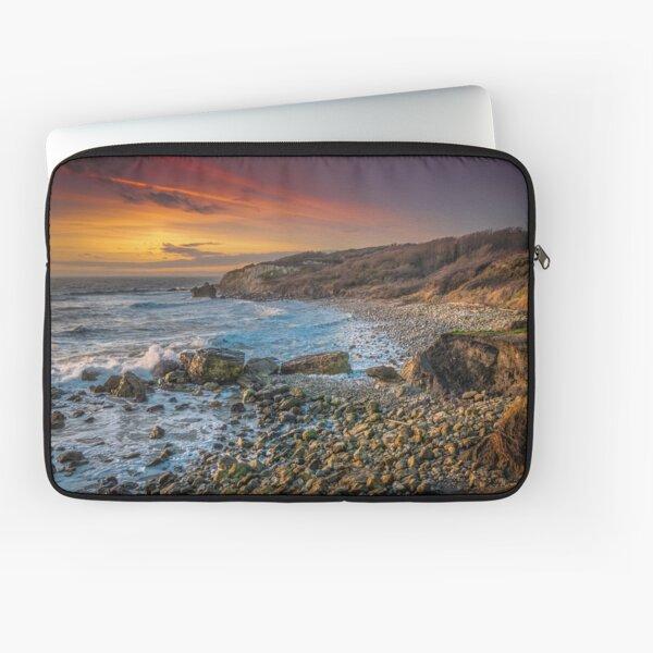 Watershoot Bay St Catherines Isle Of Wight Laptop Sleeve