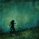 Dancing with the fireflies by KarinesPic