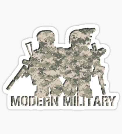 Modern Military digital camo 5 Sticker