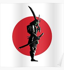 Bounty Hunter Samurai Poster