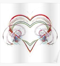 Stylized Heart Poster