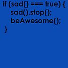 beAwesome Code Black by EsotericExposal