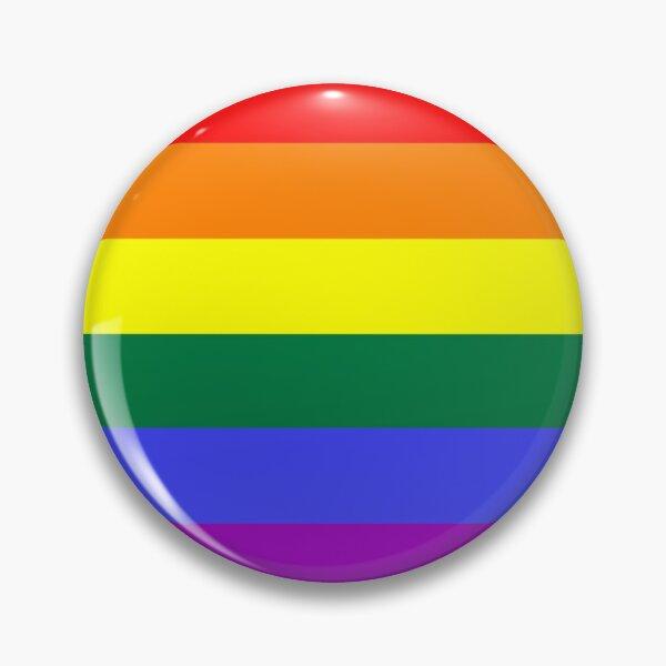 Pride Large Flag Print  Pin