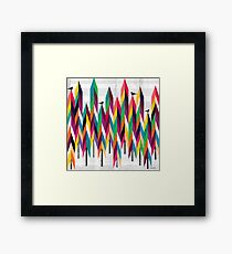 Pinetrees Framed Print