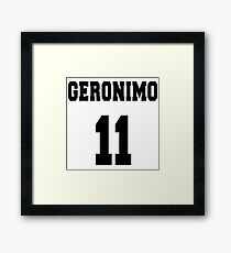 Geronimo - The 11th Doctor Framed Print