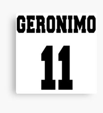 Geronimo - The 11th Doctor Canvas Print