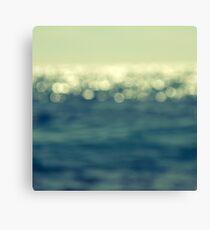 blurred light Canvas Print