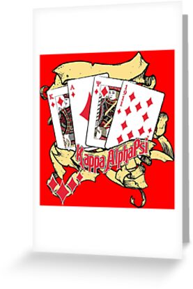 Kappa alpha psi greeting cards by hbcupride redbubble kappa alpha psi by hbcupride m4hsunfo