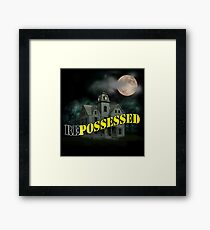 Haunted Mansion - Repossessed Framed Print