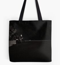 Lone Reader Tote Bag