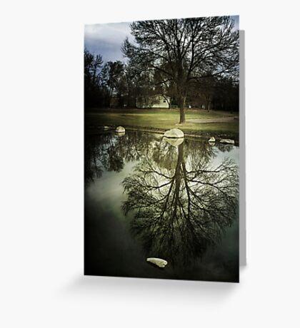 Reflected Splendor Greeting Card