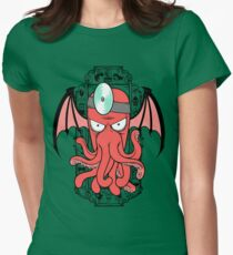 The Call Of Zoidthulhu Women's Fitted T-Shirt