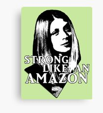 TARA MACLAY: Strong Like An Amazon Canvas Print