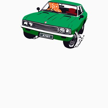 Vauxhall Victor.  Tiki Driver. Kiwi Plates by redwoodkiwi