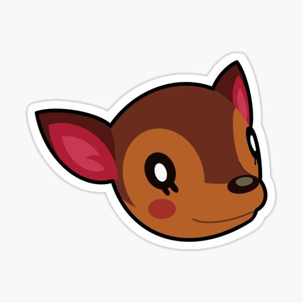 Fauna Animal Crossing Stickers Redbubble