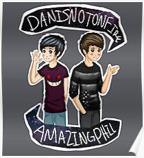 Danisnotonfire & Amazingphil  Poster