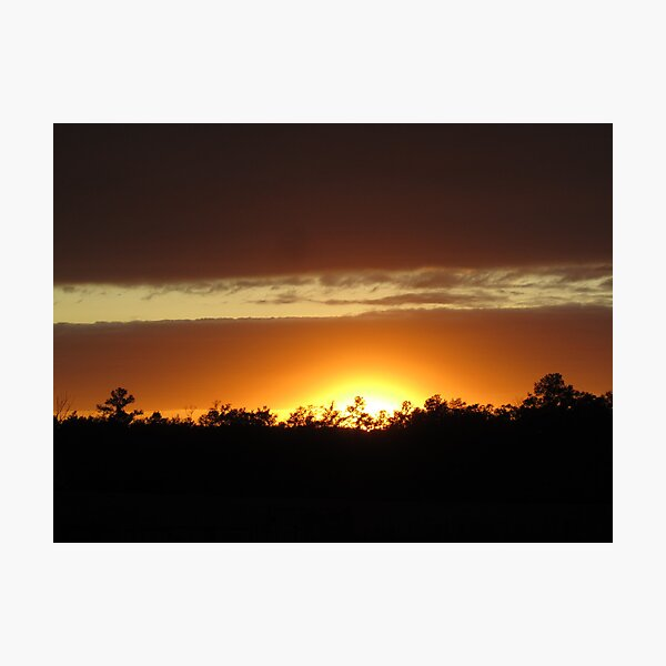 Sunset Glory Photographic Print