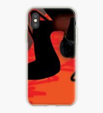 Abstract red cover iPhone Case
