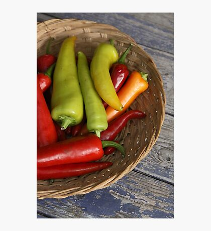 Chillies Photographic Print