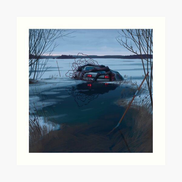 Things From The Flood - A Cold Hug Art Print