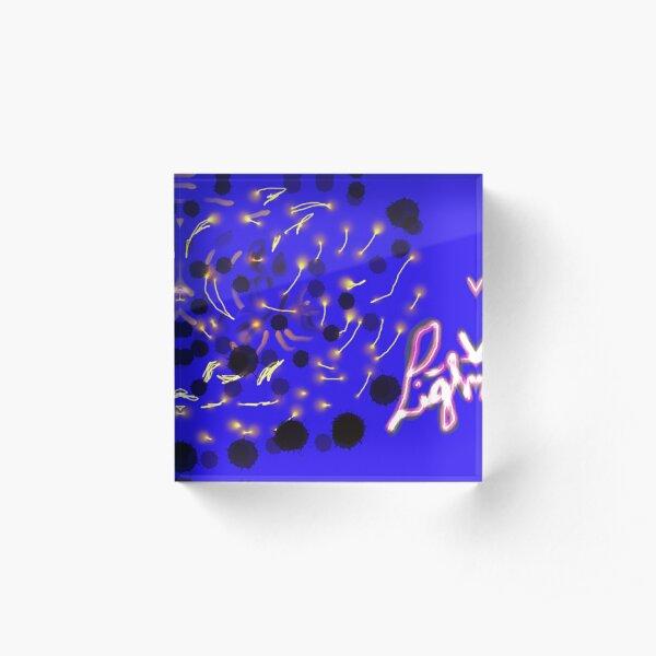 LIGHT UP Acrylic Block
