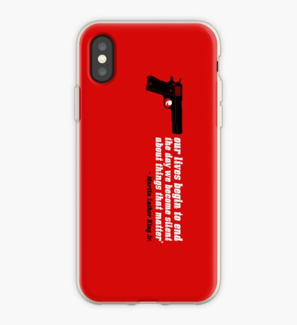 silencer [reloaded] iPhone Case