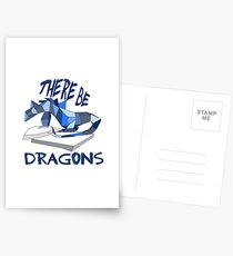 THERE BE DRAGONS Postcards