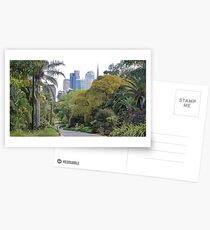 City amongst the trees Postcards
