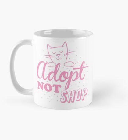 Adopt not SHOP (kitten cat) Mug