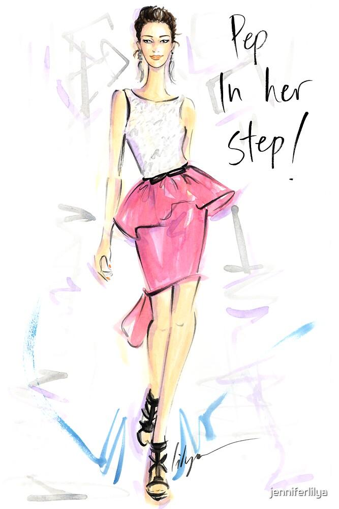 Pep In Her Step! by jenniferlilya