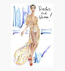 Peaches & Gleam! Photographic Print