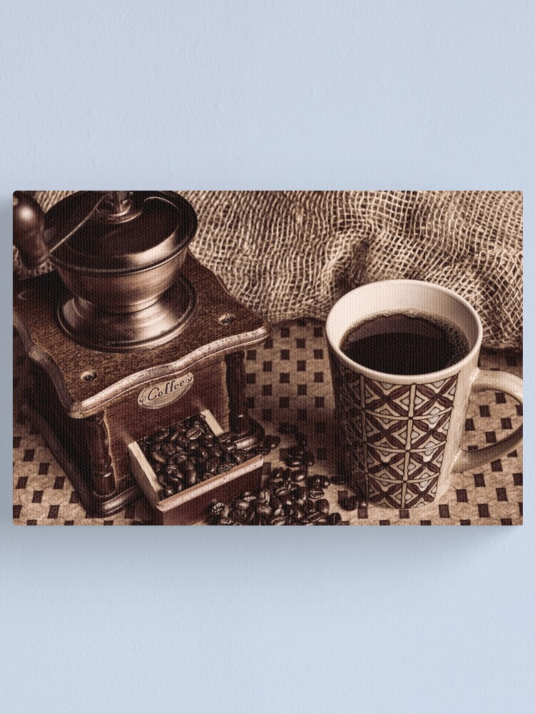Alternate view of Coffee Break Canvas Print