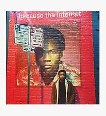 Because The Internet Photographic Print