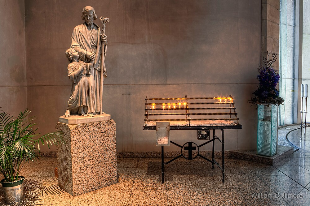 Votive Candles • Cathedral of St Stephen • Brisbane • Australia by William Bullimore