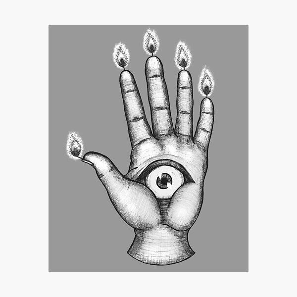 The Hand of Glory Photographic Print