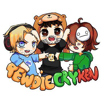PewdieCryKen by Reikiwie