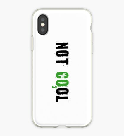 Global warming [not cool] iPhone Case