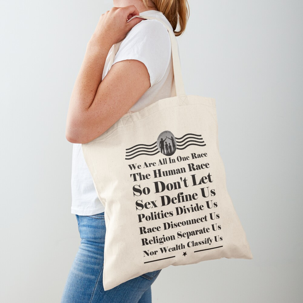 We Are All In One Race Tote Bag