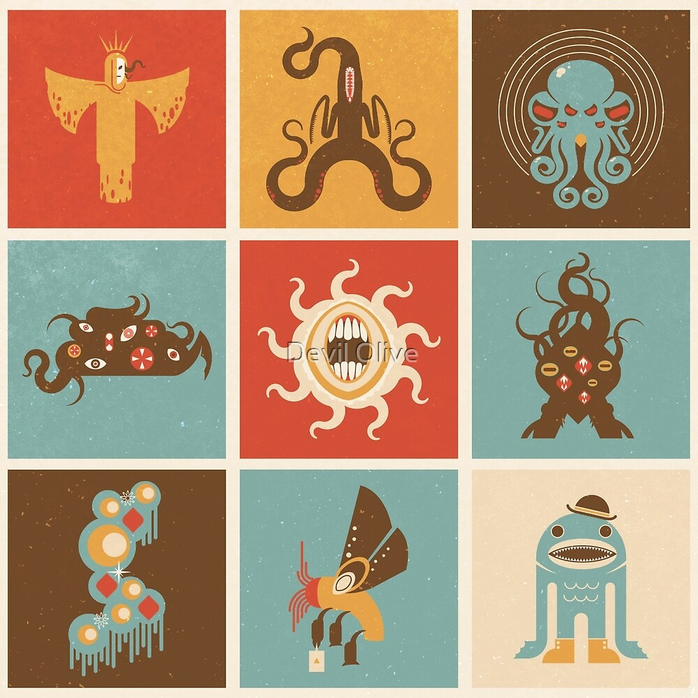 The Lovecraftian Squares by Devil Olive